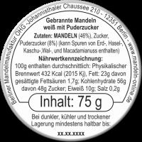 Gebrannte Mandeln Puderzucker 75g