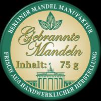 Gebrannte Mandeln im Glas 100g