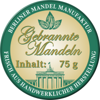 Gebrannte Mandeln im Glas 50g