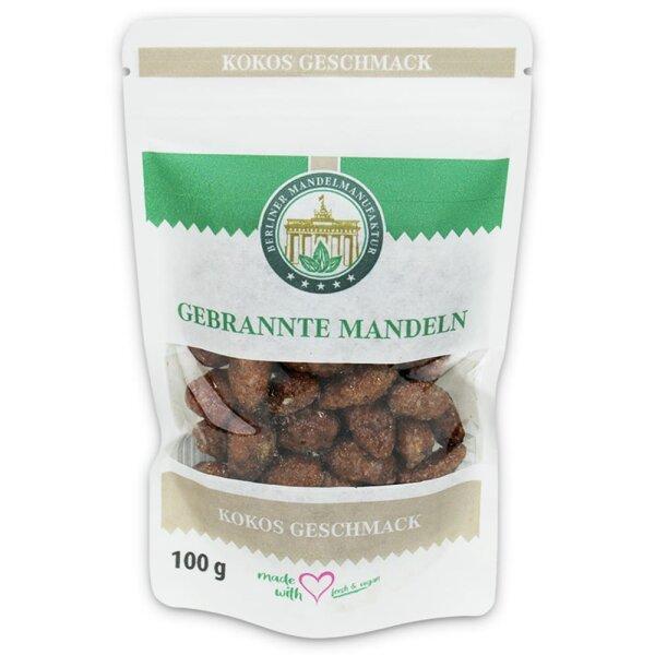 Gebrannte Mandeln mit Kokos im Beutel