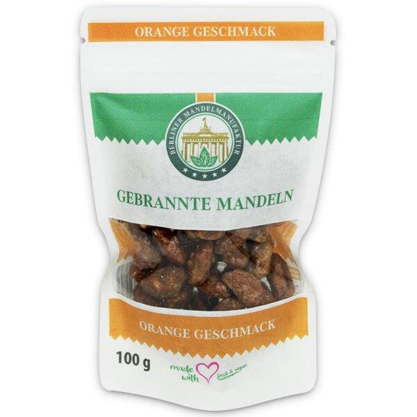 Gebrannte Mandeln mit Orange im Beutel